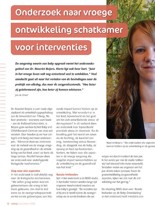 Interview met Dr. Roseriet Beijers
